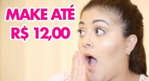 Maquiagens Baratinhas até R$ 12 | Vale a pena conhecer!