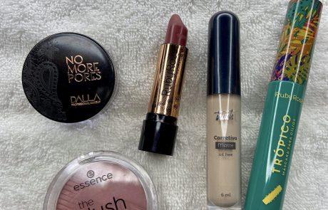 Maquiagens baratinhas e incríveis por até 29 reais!